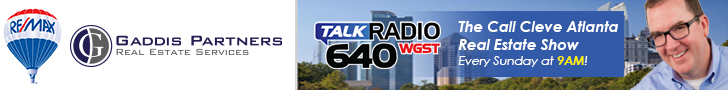 Call Cleve Atlanta Real Estate Show on TalkRadio 640 WGST